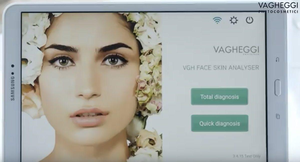 Vhg skin analyser 8